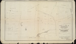 Plan of land in Newton, 6th ward