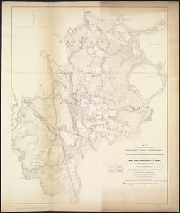 Map of the country between Monterey, Tenn: & Corinth, Miss: showing the lines of entrenchments made & the routes followed by the U.S. forces under the command of Maj. Genl. Halleck, U.S. Army, in their advance upon Corinth in May 1862