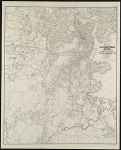 Map of Boston, for 1886