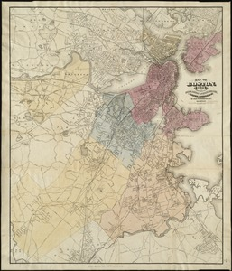 Map of Boston, for 1874