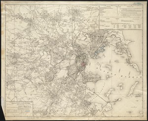 [Map of Boston and vicinity]