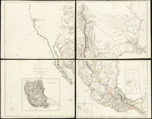 A new map of Mexico and adjacent provinces compiled from original documents