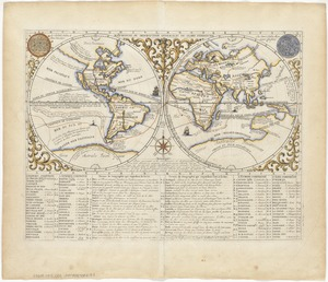 Mappmonde ou description generale du globe terrestre