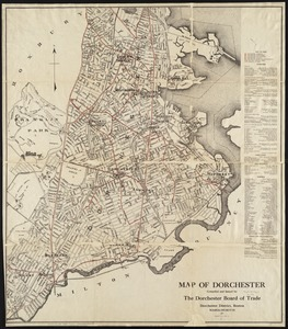 Map of Dorchester