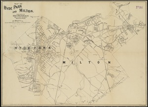 Map of Hyde Park and Milton