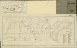 Plan of the Arnold Arboretum Jamaica Plain Mass