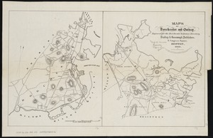 Maps of Dorchester and Quincy