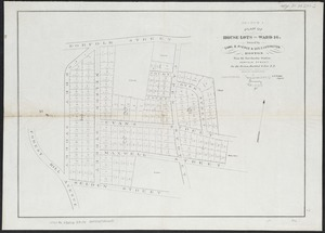 Plan of house lots in ward 16