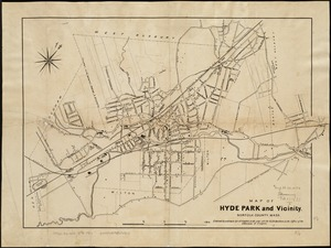 Map of Hyde Park and Vicinity