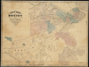 New map of Boston