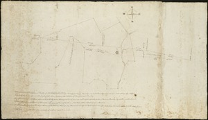 [Survey of a property on the Boxford-Rowley line]