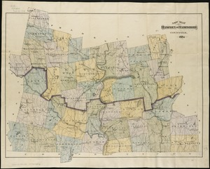 New map of Hampden & Hampshire counties