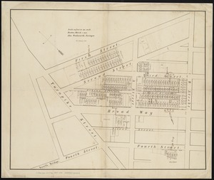 [Plan of lots in South Boston]