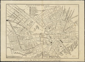[Map of a part of Boston]