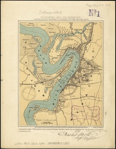Vicksburg and its defences