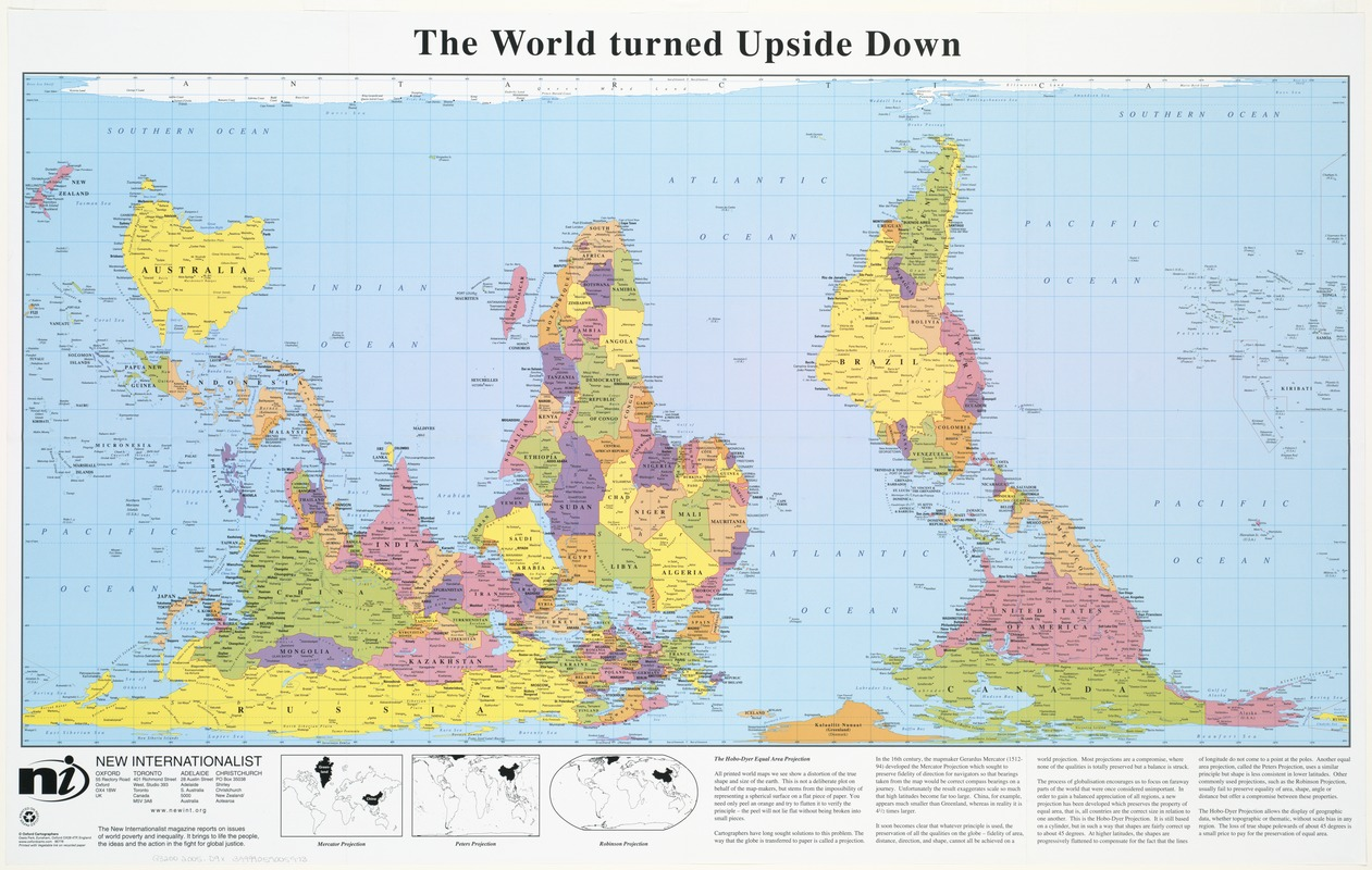 The world turned upside down norman b leventhal map center gumiabroncs Images