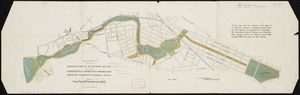 Suggestion for the improvement of Muddy River and for completing a continuous promenade from the Common to Jamaica Pond