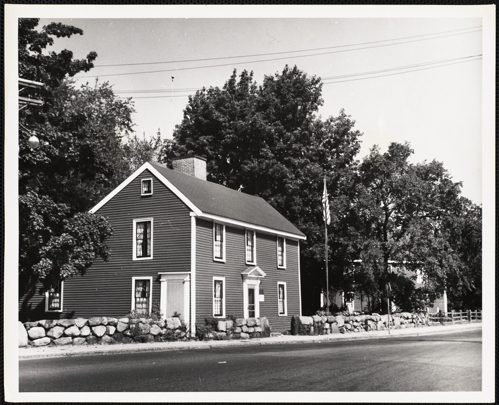 Birthplace of John Quincy Adams, 6th president of the U.S. Quincy, Mass.