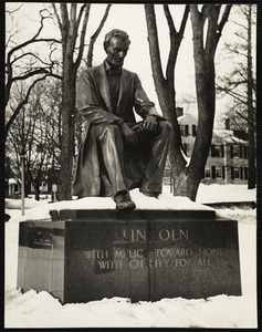 Lincoln in Hingham, Mass