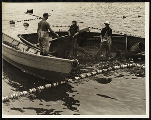 Mackeral fishing - Maine 1944
