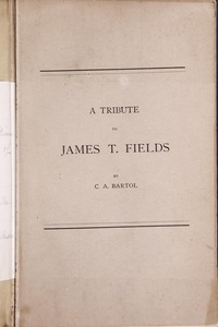 Biographical Pamphlet (Fields)