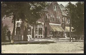 Picture of Post Office Block, Waban, Mass.