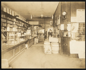 Conant's store & post office interior view