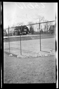 Three photo negatives of Waban Neighborhood Club