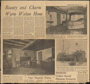 Beauty and charm warm Waban home