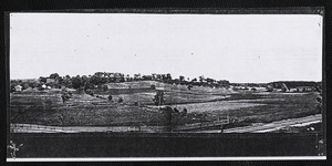 1880s looking north from the Poor Farm, now the Angier Playground