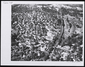 Aerial view of Waban