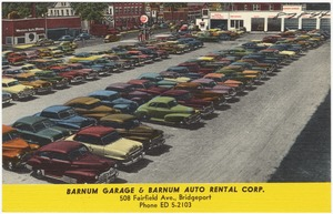 Barnum Garage & Barnum Auto Rental Corp., 508 Fairfield Ave., Bridgeport
