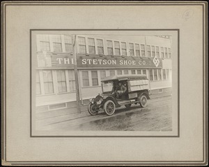 Stetson Shoe Co., circa 1920, delivery truck - Main St.