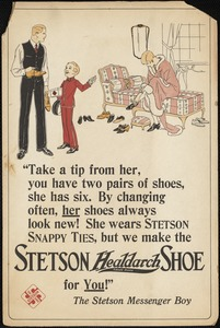 Stetson Healdarch shoe for you!