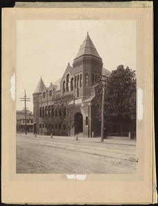 Tufts Library, Weymouth circa 1895
