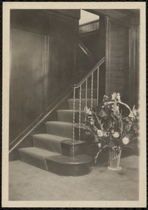 Entrance to balcony and office
