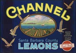 Channel Brand: Santa Barbara County lemons, Goleta Lemon Association, Goleta California