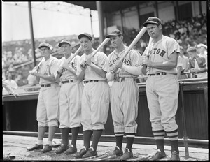 All Star line up including Foxx and Gehrig