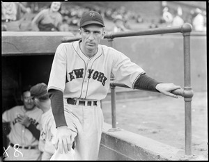 Carl Hubbell, New York Giants pitcher