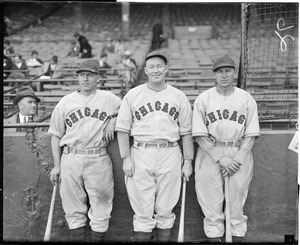 Chicago Cubs at Braves Field - Charlie Grimm (c) unidentified