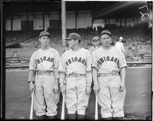 Chicago Cubs, unidentified at Braves Field