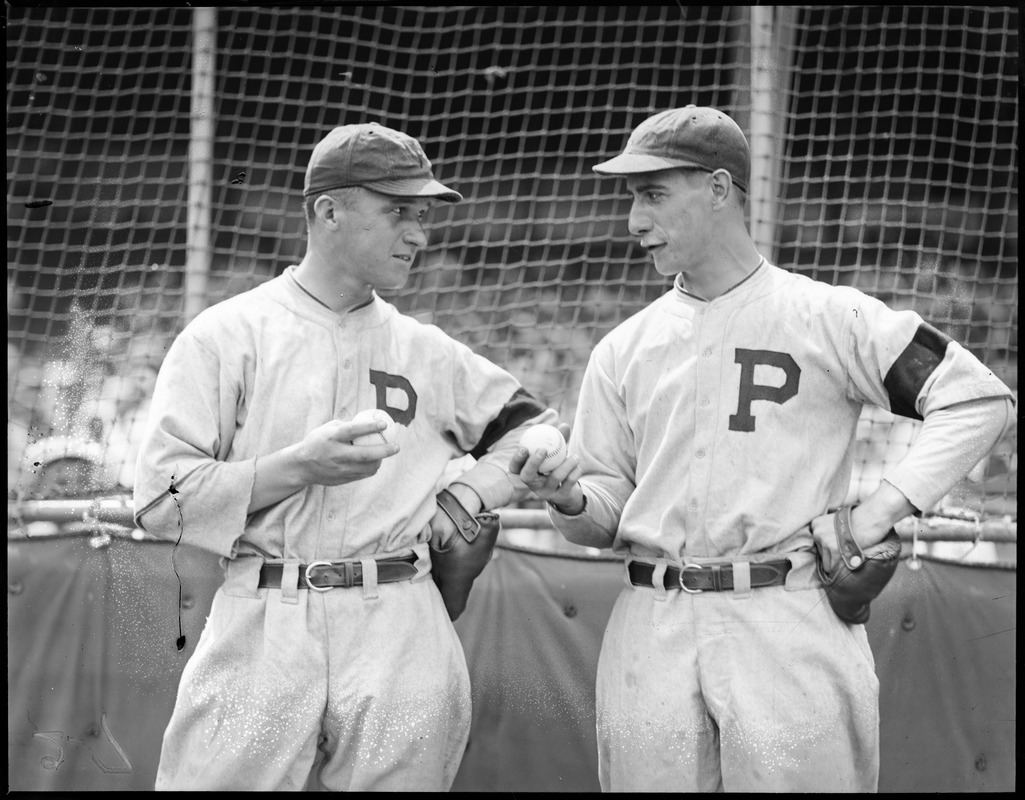 Steve Swetonic and Bill Swift, star pitchers for the Pirates