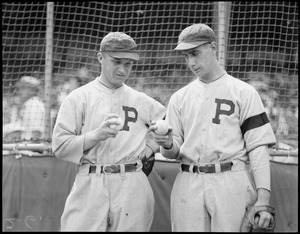 Steve Swetonic and Bill Swift, Pirates' pitchers