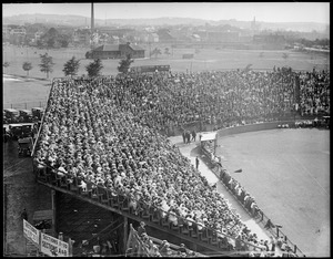Crowd at Soldiers Field ballpark