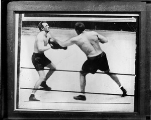 Fatal blow to Ernie Schaaf from Primo Carnera