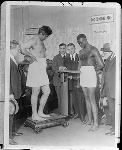 Weigh-in for Firdo vs. Wills fight