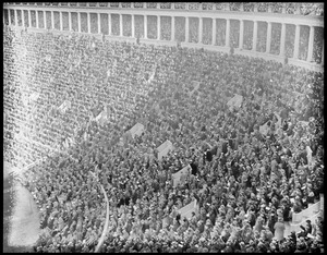 Big crowd, Harvard Stadium