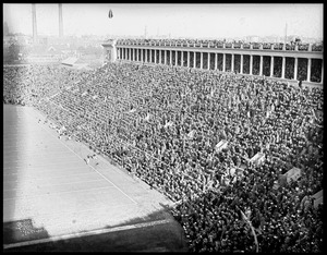 Big crowd at Harvard Stadium
