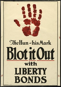 Liberty Bond Poster, World War I