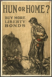 Liberty Bonds Poster, World War I
